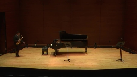 Thumbnail for entry Greenwood School of Music Performances: Dr. Johnny Salinas Faculty Recital