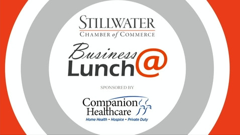 Thumbnail for entry July 2018 Stillwater Chamber of Commerce Business@Lunch: Coach Sherry Winn