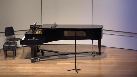 Thumbnail for entry   Greenwood School of Music Graduate Recital--Sydney Eastman