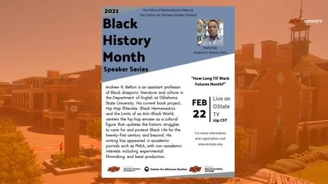Thumbnail for entry REBROADCAST :   How Long Til' Black Futures Month?