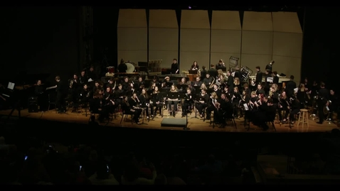 Thumbnail for entry 2019 Symphonic and Concert Band Performance