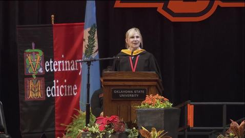 Thumbnail for entry REBROADCAST:  Fall 2019 Graduate College Commencement Ceremony