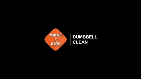Thumbnail for entry Dumbbell Clean
