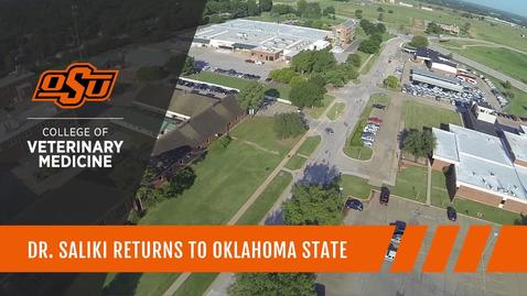 Thumbnail for entry Dr. Saliki Returns to OSU College of Veterinary Medicine