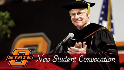 Thumbnail for entry REBROADCAST:  2016 New Student Convocation