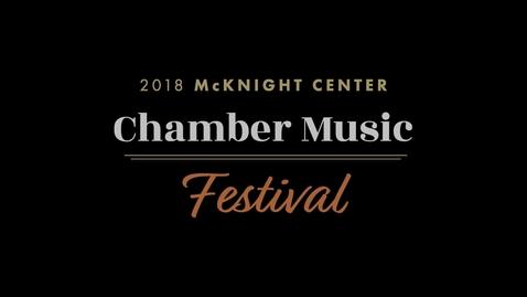 Thumbnail for entry 2019 Chamber Festival