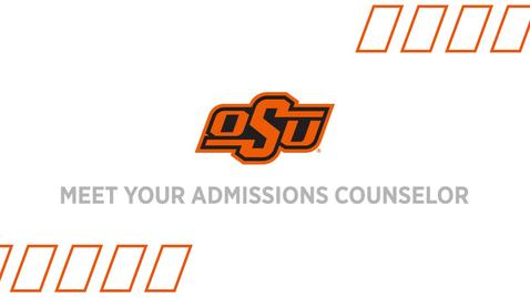 Thumbnail for entry Meet Your Admissions Counselor: Dillon Walker