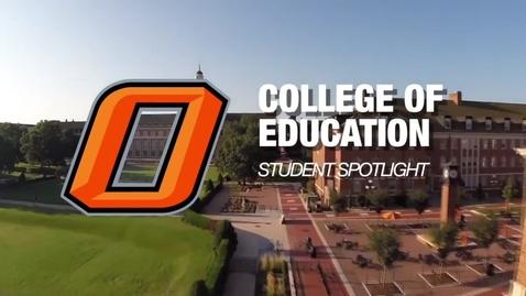 Thumbnail for entry Student Spotlight - Skyla Clift