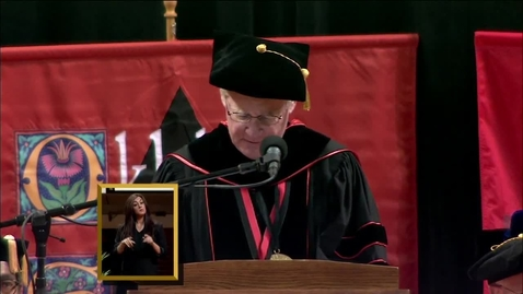 Thumbnail for entry Spring 2013 Commencement: College of Agricultural Sciences & Natural Resources