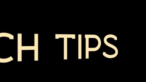 Thumbnail for entry Tech Tips: EXIF Data