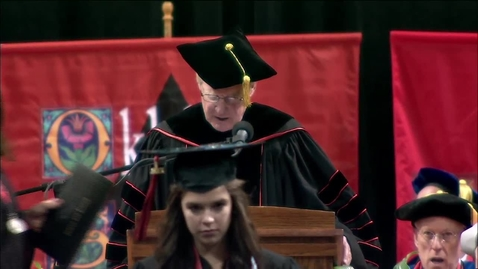 Thumbnail for entry Spring 2013 Commencement:  College of Arts & Sciences