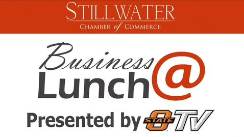 Thumbnail for entry February 2018 Stillwater Chamber of Commerce Business@Lunch:  Former OSU and NFL Football Player Shamiel Gary