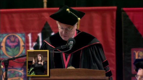 Thumbnail for entry Spring 2013 Commencement:  College of Education
