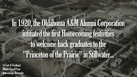 Thumbnail for entry Homecoming 2009 Alumni Invitation