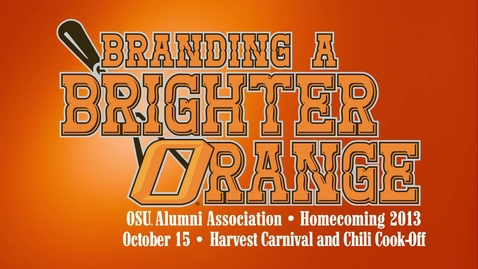 Thumbnail for entry Homecoming 2013: Harvest Carnival and Chili Cook-Off