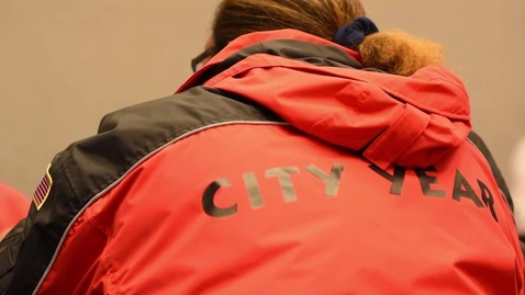 Thumbnail for entry City Year AmeriCorps Volunteers visit OSU and talk about the Graduate College City Year National Service Scholars Program, Part 1.