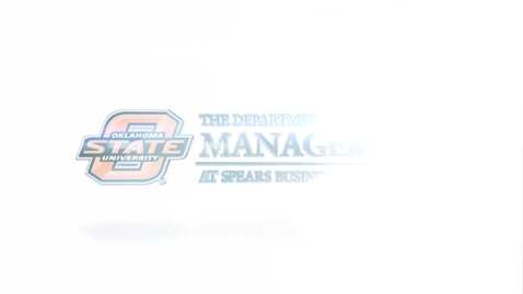 Thumbnail for entry Spears Business Management Department