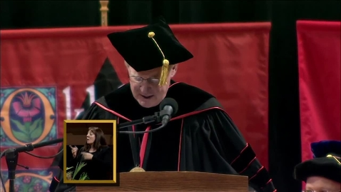 Thumbnail for entry Spring 2013 Commencement:  College of Human Sciences