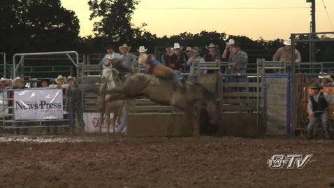Thumbnail for entry Sights & Sounds: Cowboy Stampede Championship Round 2017