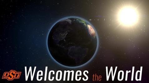 Thumbnail for entry International Students Welcome Their Peers
