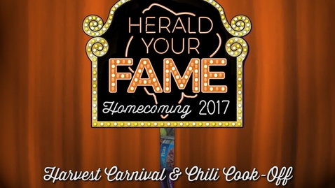 Thumbnail for entry Homecoming 2017: Harvest Carnival & Chili Cook-Off