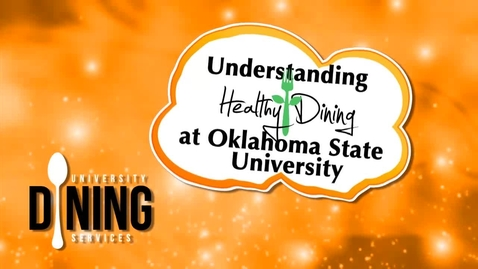 Thumbnail for entry Pistol Pete Learns About Healthy Dining on the OSU Campus