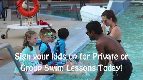 Thumbnail for entry Swim Lessons