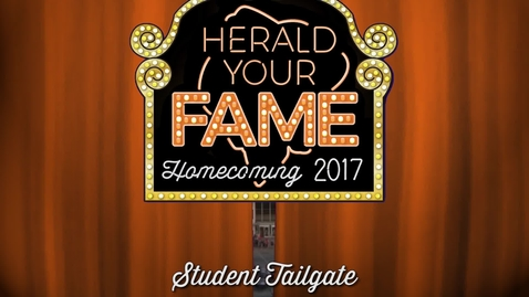 Thumbnail for entry Homecoming 2017: Student Tailgate