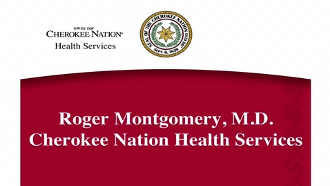 Thumbnail for entry Sovereignty Speaks© 3: Ethical Research in Oklahoma - Dr. Roger Montgomery