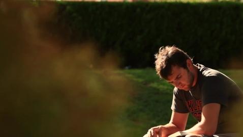 Thumbnail for entry Spears Business Student Spotlight - Andy Blye