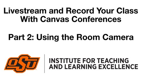 Thumbnail for entry Livestream and Record with Conferences - Part 2 Huddle Camera