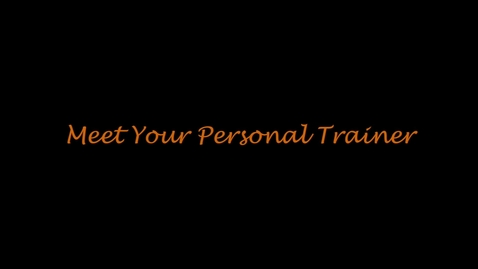 Thumbnail for entry Meet Your Personal Trainer: Alex Veenker
