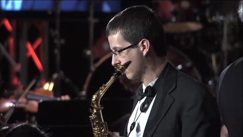 Thumbnail for entry A Night of Orange & Black:  Tomasi Saxophone Concerto