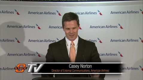 Thumbnail for entry REBROADCAST:  American Airlines/City of Stillwater Announcement