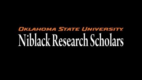 Thumbnail for entry Dr.John Niblack, Niblack Research Scholars Program