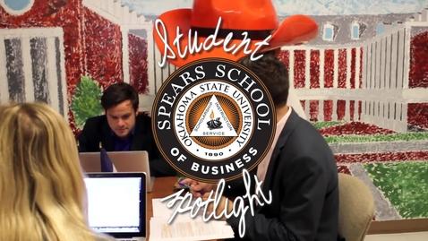 Thumbnail for entry Spears School Student Spotlight Justin Kanipe