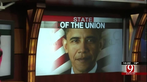 Thumbnail for entry IN THE NEWS:  OSU Students Give Real-Time Response to State of the Union Address