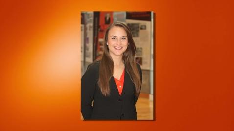 Thumbnail for entry Andrea Cerar - 2013 Outstanding Senior