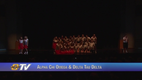 Thumbnail for entry Freshman Follies 2017:  Alpha Chi Omega & Delta Tau Delta