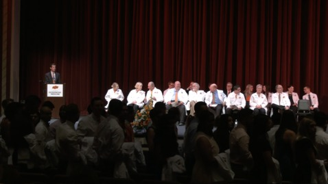 Thumbnail for entry REBROADCAST:  2019 OSU CHS White Coat Ceremony