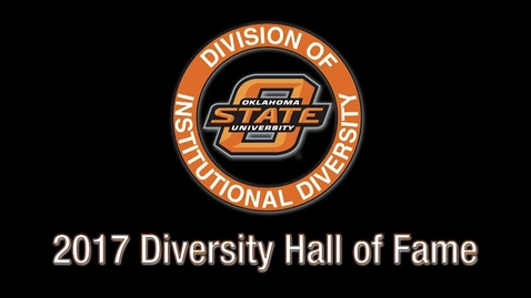 Thumbnail for entry REBROADCAST: 2017 OSU Diversity Hall of Fame