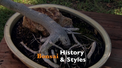 Thumbnail for entry Oklahoma Gardening: Bonsai History & Styles