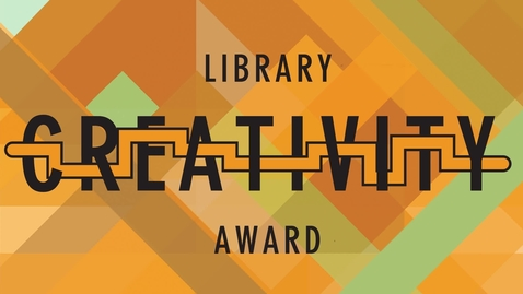 "Thumbnail for entry Library Creativity Award: Christian Coletti ""The Singularity Triangle"""