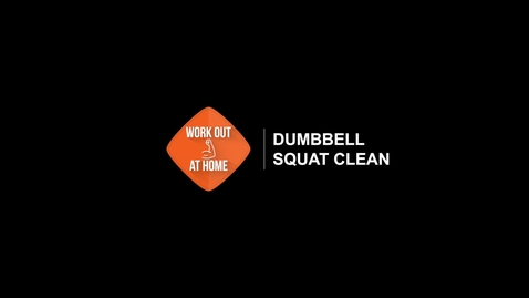 Thumbnail for entry Dumbbell Squat Clean
