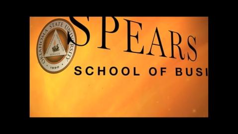 Thumbnail for entry Spears School Classics: Miss Oklahoma Interviews Dean Sandmeyer
