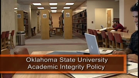 Thumbnail for entry Academic Integrity