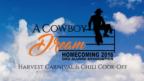 Thumbnail for entry Homecoming 2016: Harvest Carnival & Chili Cook-Off