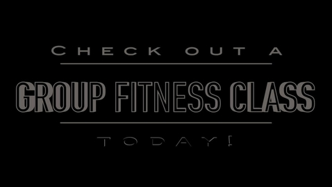 Thumbnail for entry Group Fitness Promo
