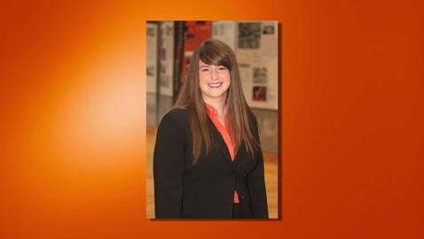 Thumbnail for entry Bridget Harkin - 2013 Outstanding Senior
