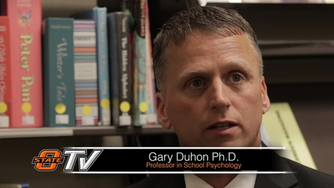 Thumbnail for entry Research Minute: Gary Duhon Ph.D.
